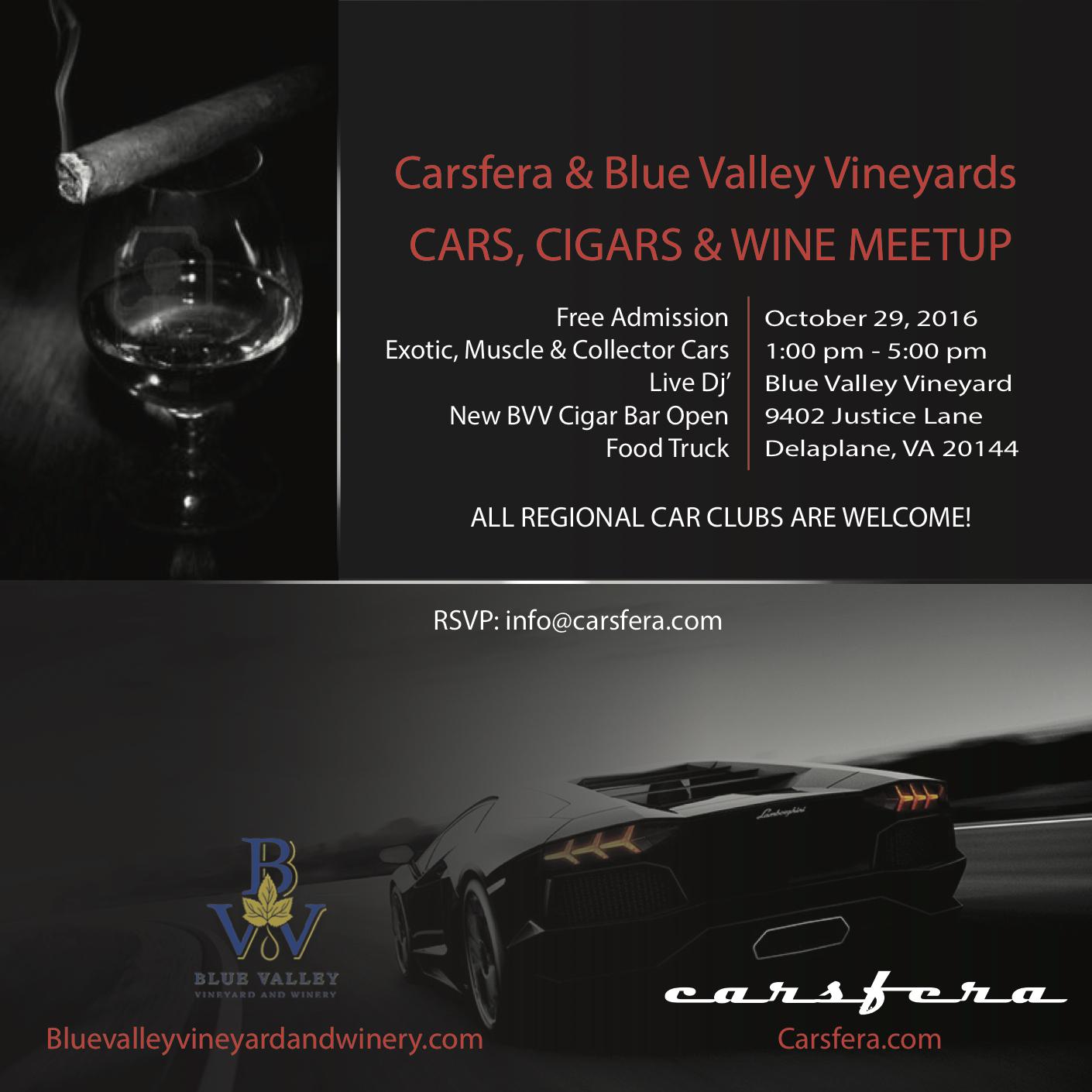 1st Carsfera.com Exotic Cars & Cigars