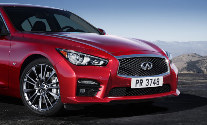 Infiniti Q50 Red Sport 400 Passion Excitement And